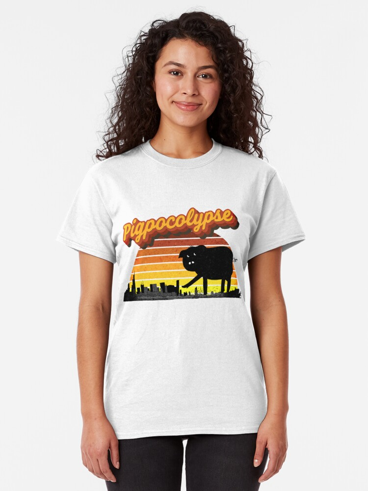 Alternate view of Pigpocolypse Classic T-Shirt