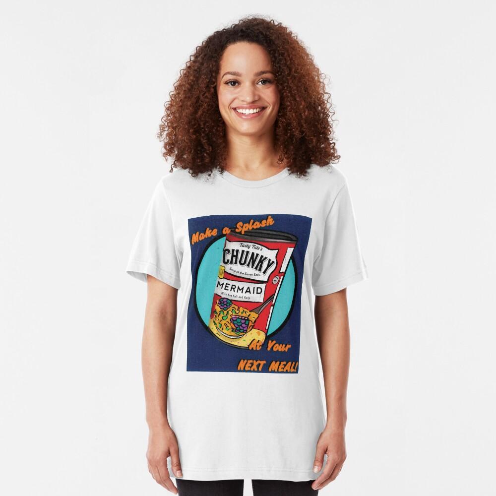 Mermaid Soup Slim Fit T-Shirt