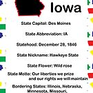Iowa Information Educational by ValeriesGallery