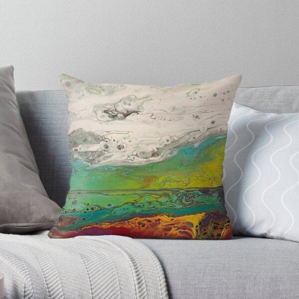 ABALONE BEACH Throw Pillow