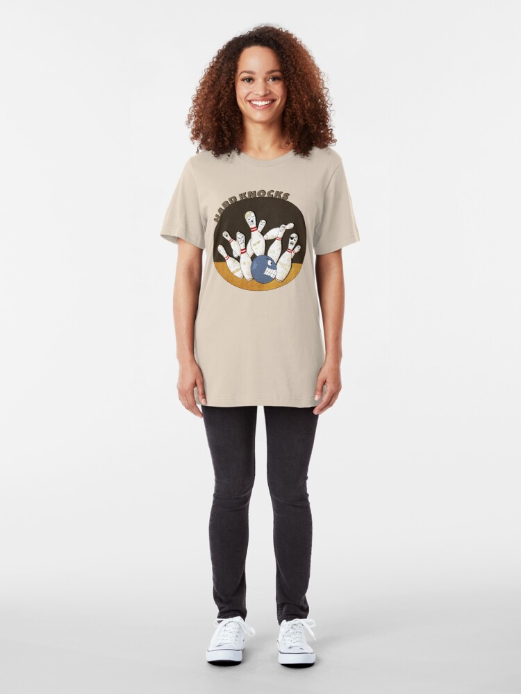 Alternate view of It's A Hard Knock Life! Slim Fit T-Shirt