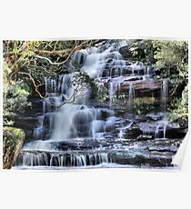 Top Falls - Somersby, Brisbane Waters National Park NSW Australia Poster