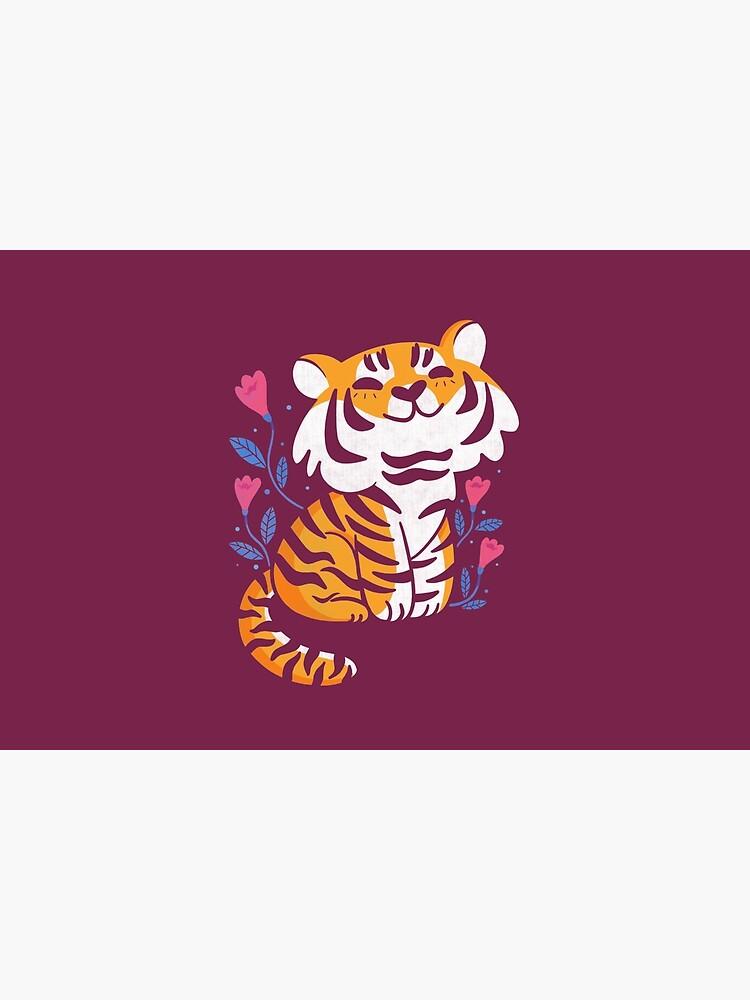 Flower Tiger by TaylorRoss1