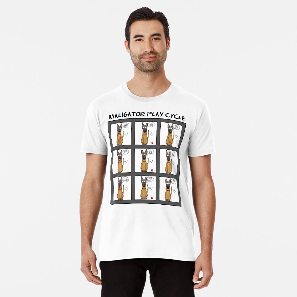Maligator Play Cycle Premium T-Shirt