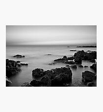 Sunset - North Beach, Wallaroo, SA Photographic Print