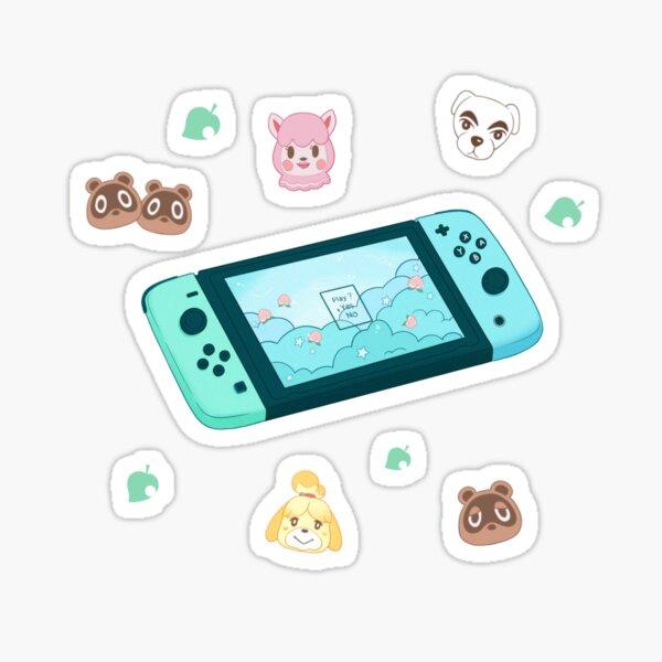 Animal Crossing Switch Sticker