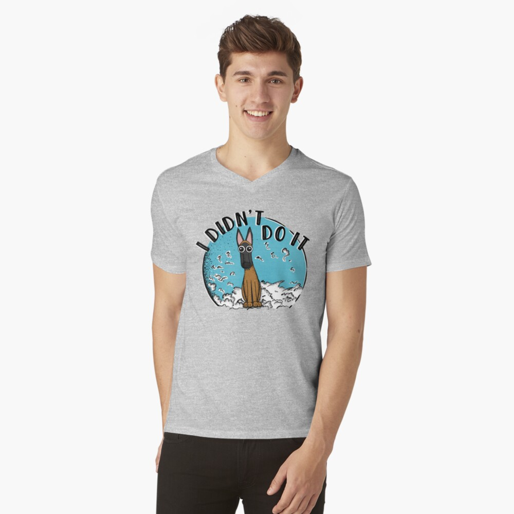 I Didn't Do It! V-Neck T-Shirt