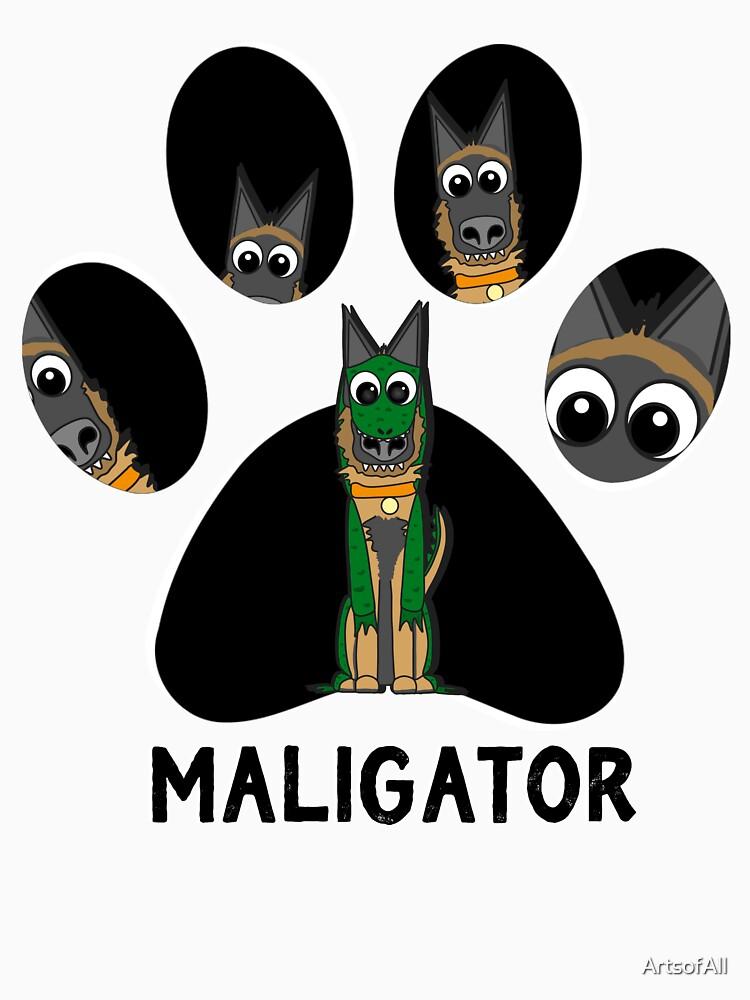 The Pawfect Maligator by ArtsofAll