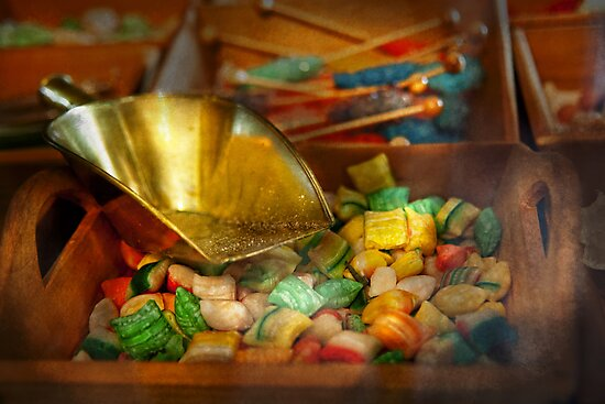 Food - Candy - One scoop of candy please  by Michael Savad