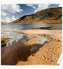 Lough Nafooey Co. Mayo/Galway Ireland. Poster