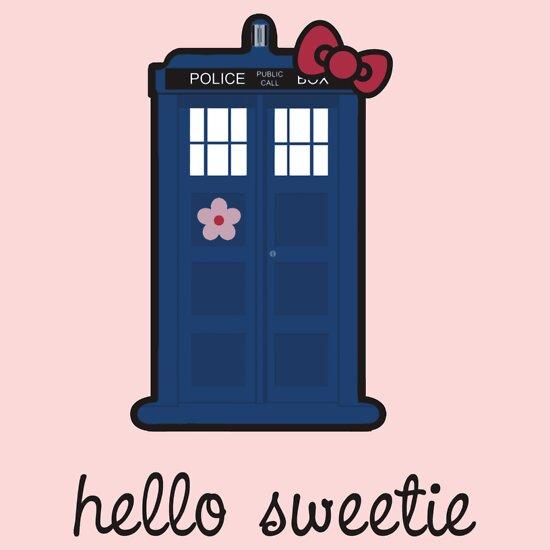 TShirtGifter presents: Hello Sweetie