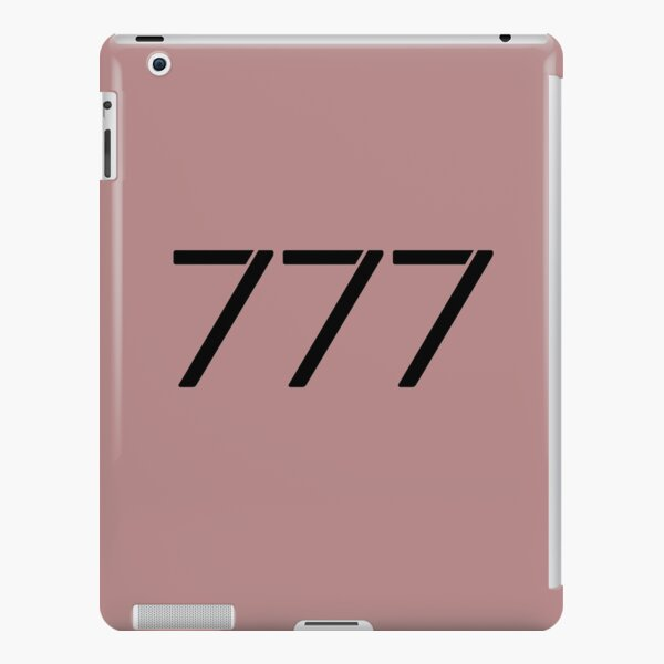 My Angel Number 777 iPad Snap Case