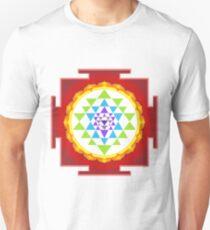 Sri Yantra Mandala for Meditation Unisex T-Shirt