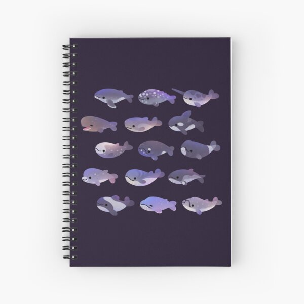Whale Day Spiral Notebook