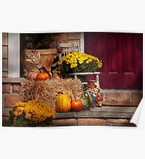 Autumn - Gourd - Autumn Preparations Poster