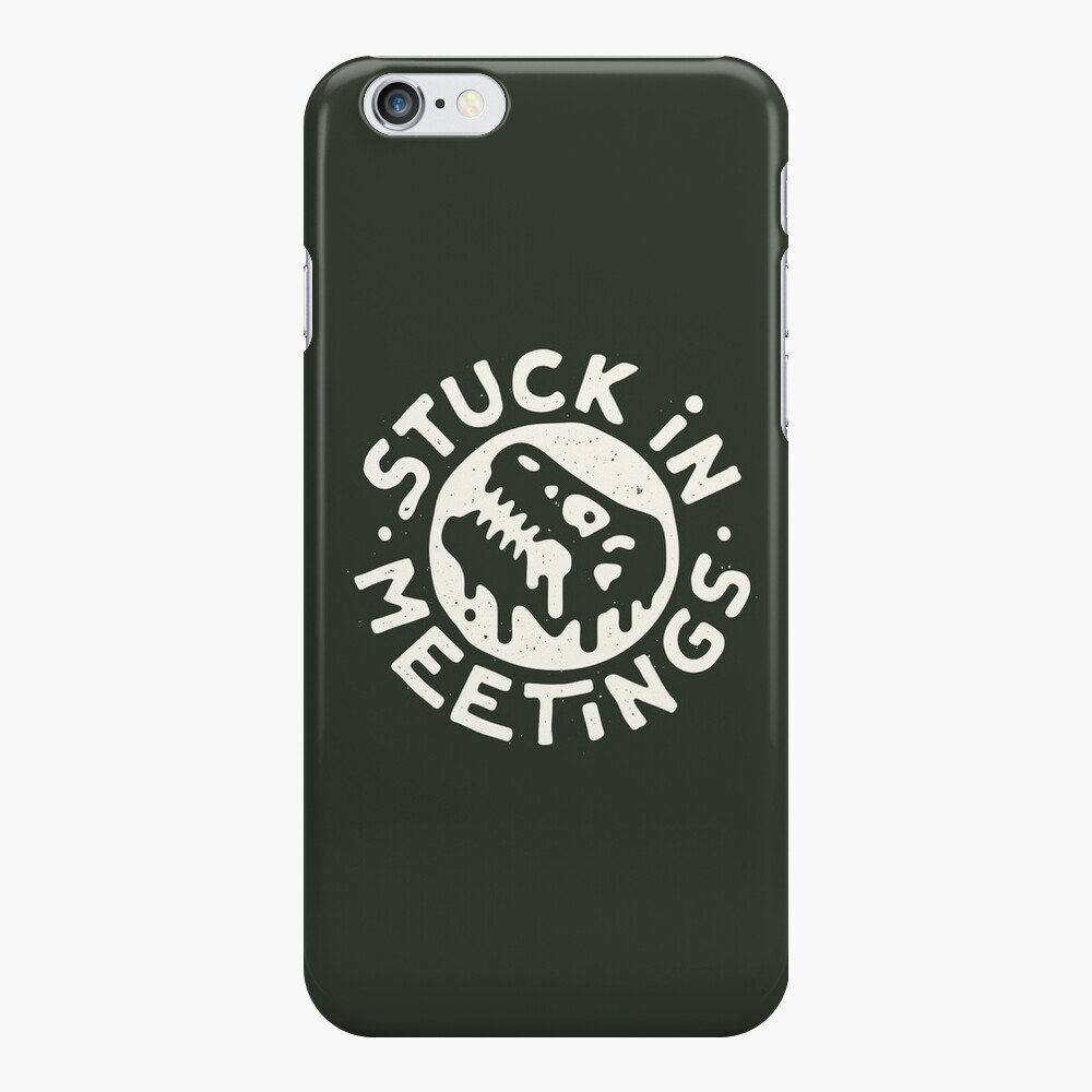 Stuck in Meetings iPhone Case & Cover