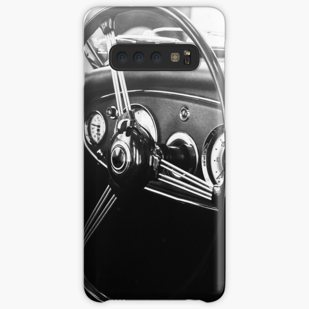 Vintage car black and white photography Case & Skin for Samsung Galaxy