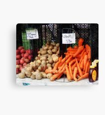 Carrots, Potatoes and Honey Canvas Print