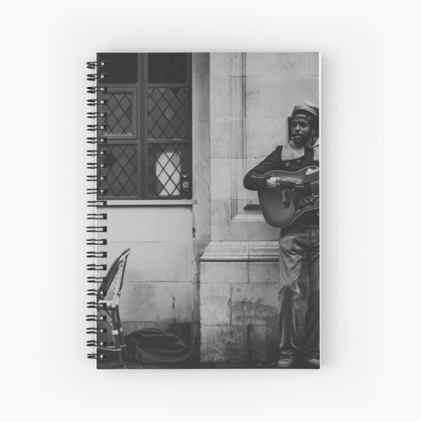 Music and Love Spiral Notebook