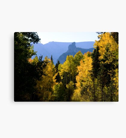 Driving over Owl Creek Pass Canvas Print