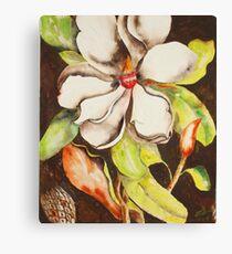 Glorious Tropical Flowers Canvas Print