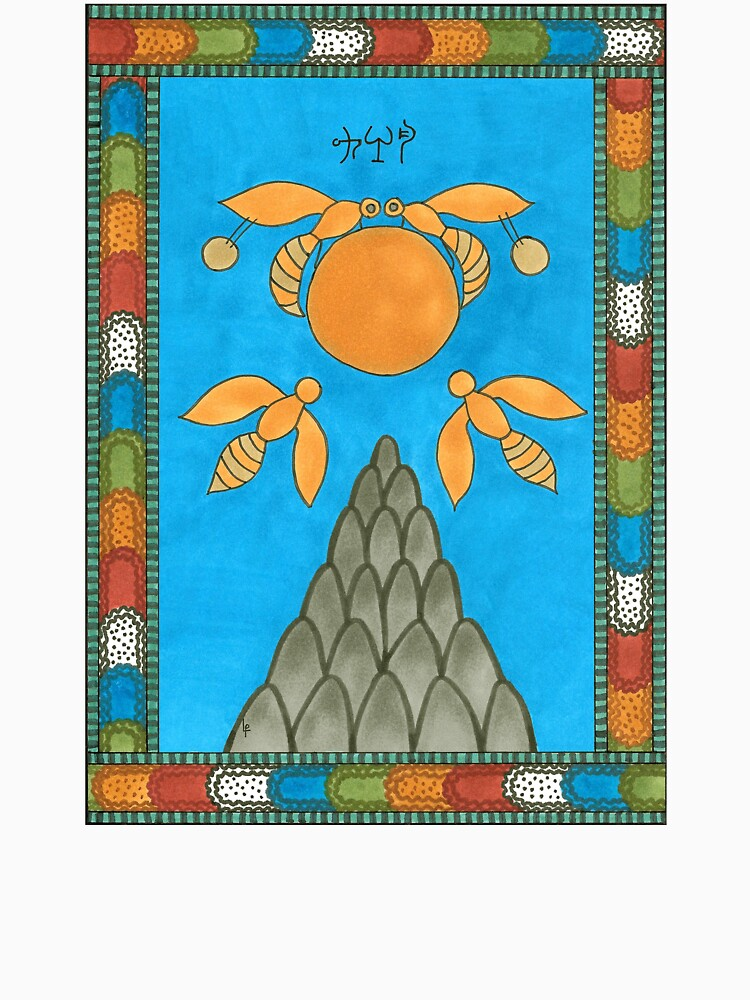 19 The Sun from The Minoan Tarot by MsLauraPerry