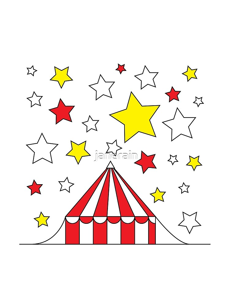 circus tent by janerain