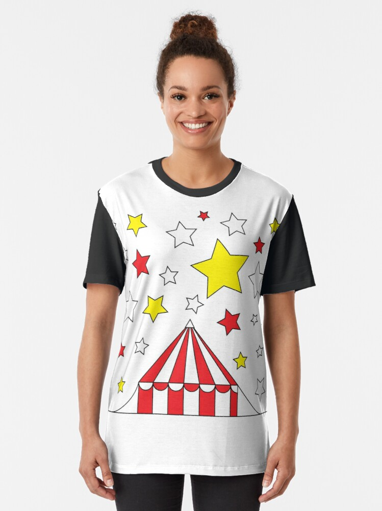 Alternate view of circus tent Graphic T-Shirt