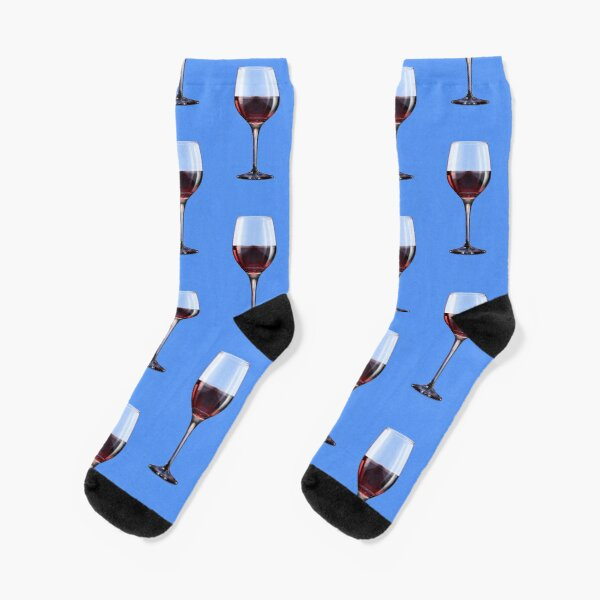 Wine Glass Socks Socks