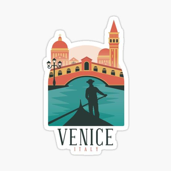 Venice skyline Sticker