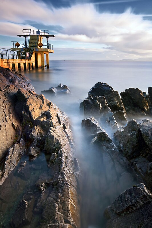Blackrock Diving Tower Salthill Galway Ireland Mickbourke Redbubble