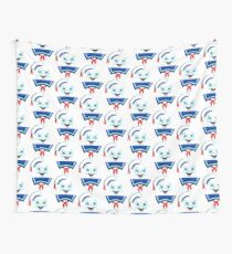 Mr. Marshmallow Destruction Wall Tapestry