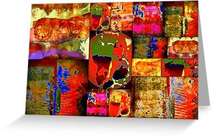 Kinetic WORLD Quilt by © Angela L Walker