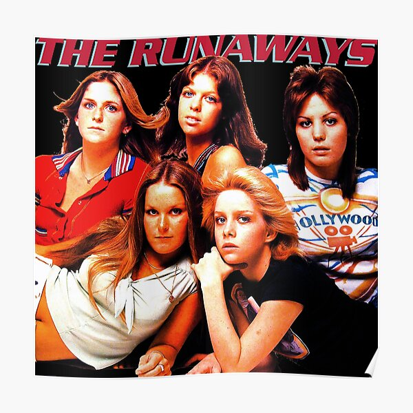 The Runaways - Queens Of Noise Poster