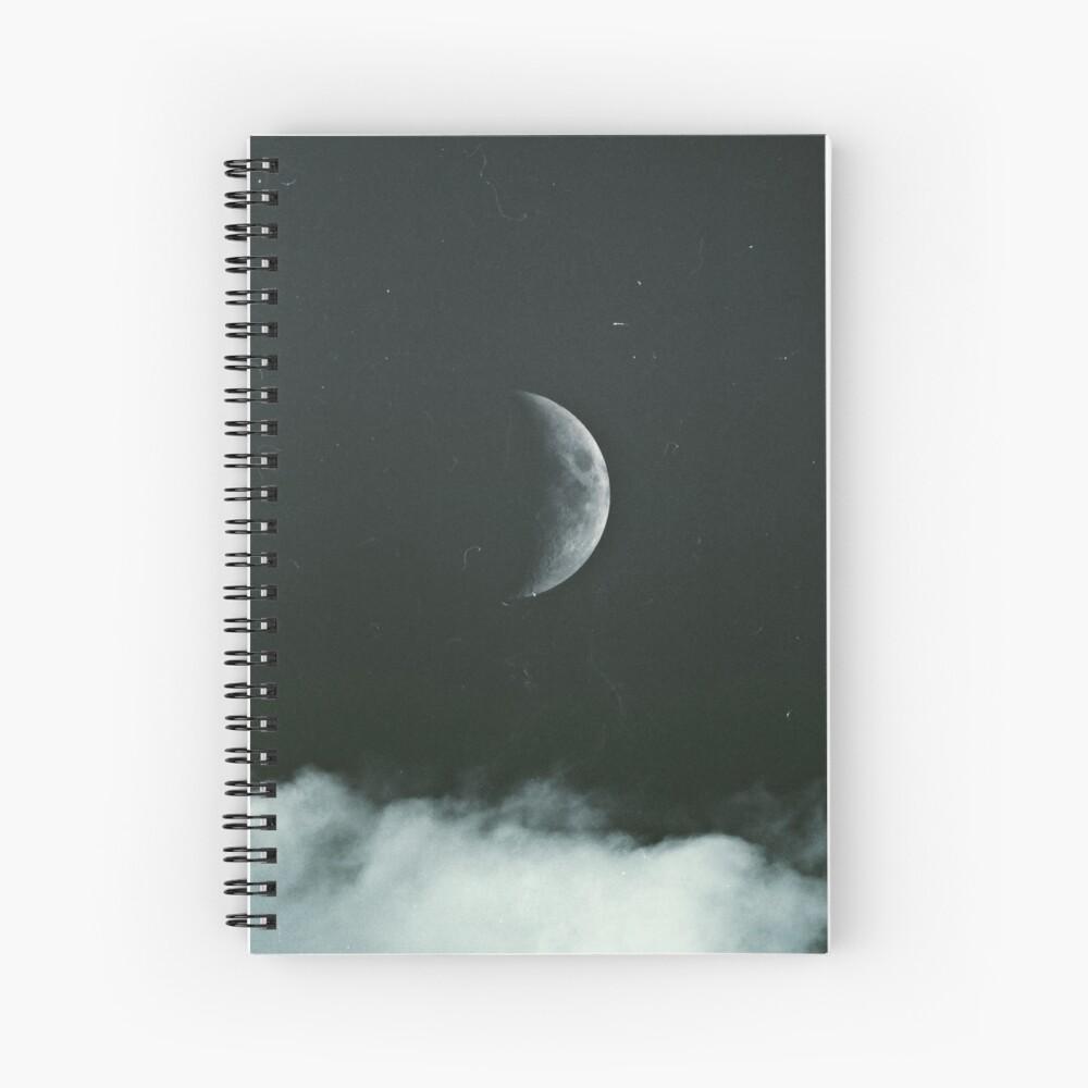The Moon Spiral Notebook