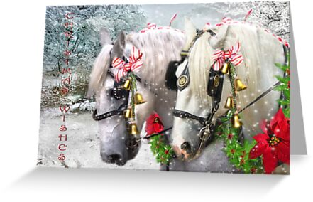 Jingle Horse by Trudi's Images