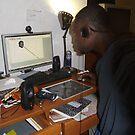 Hard at work...CREATING by mastamere