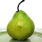Single Pear by Gloria Abbey