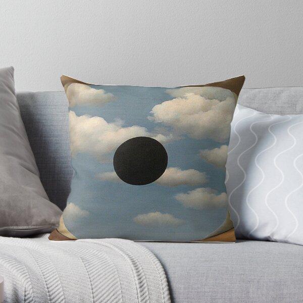 The False Mirror - Rene Magritte Throw Pillow