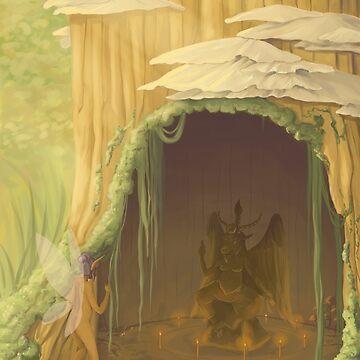 A Fairy's Secret by WWFoxStudio