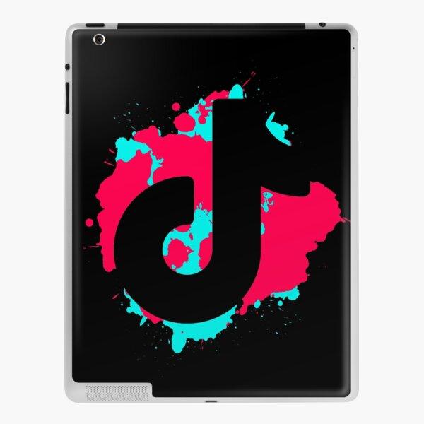 TikTok Splatter iPad Skin