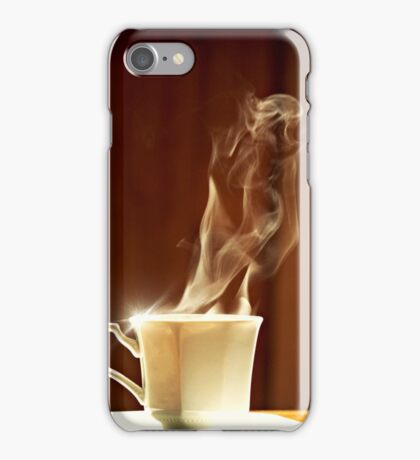 Steamy Girl iPhone Case/Skin