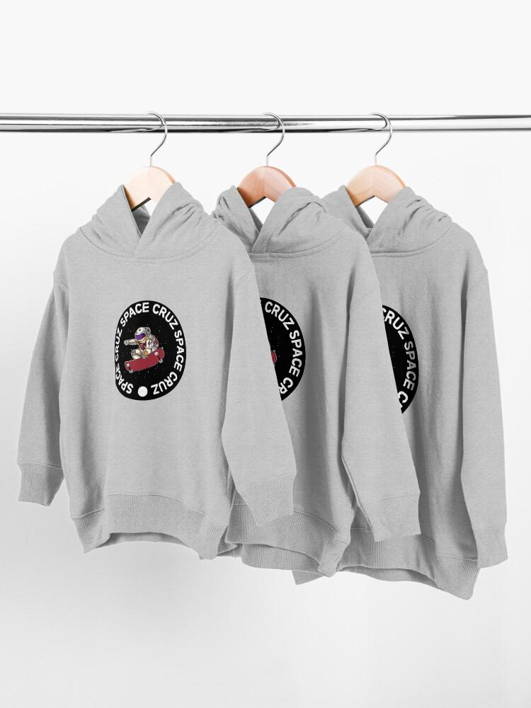 Alternate view of Skate Apparel - Skateboard Gifts - Skateboard Head - Skater Boy - Skater Girl - Stickers Shirts Toddler Pullover Hoodie