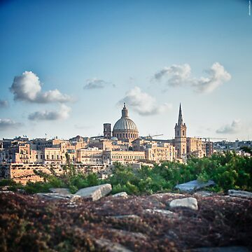 Valletta in the background by ill-tempered