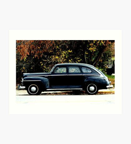 1948 Plymouth Special Deluxe Coupe Art Print