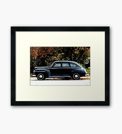 1948 Plymouth Special Deluxe Coupe Framed Print