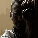 Me in the mirror by Richard Skoropat
