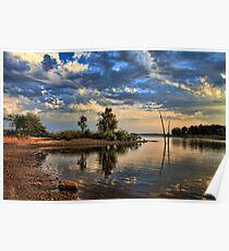 Cove Colors  Lake Eufaula, Ok. Poster
