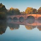 Sunrise over Sonning Bridge by Rob Lodge