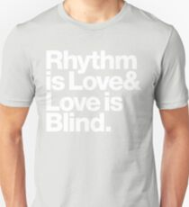 André Cymone Love to Dance Electric Helvetica Threads T-Shirt